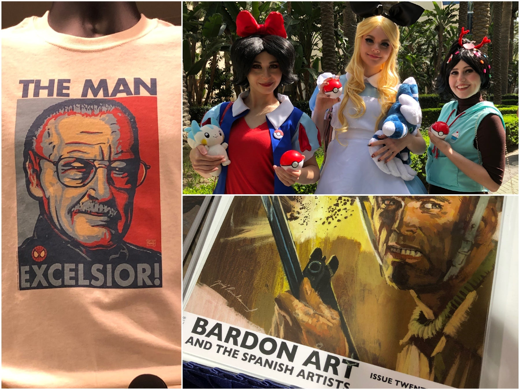 Scenes from WonderCon 2019