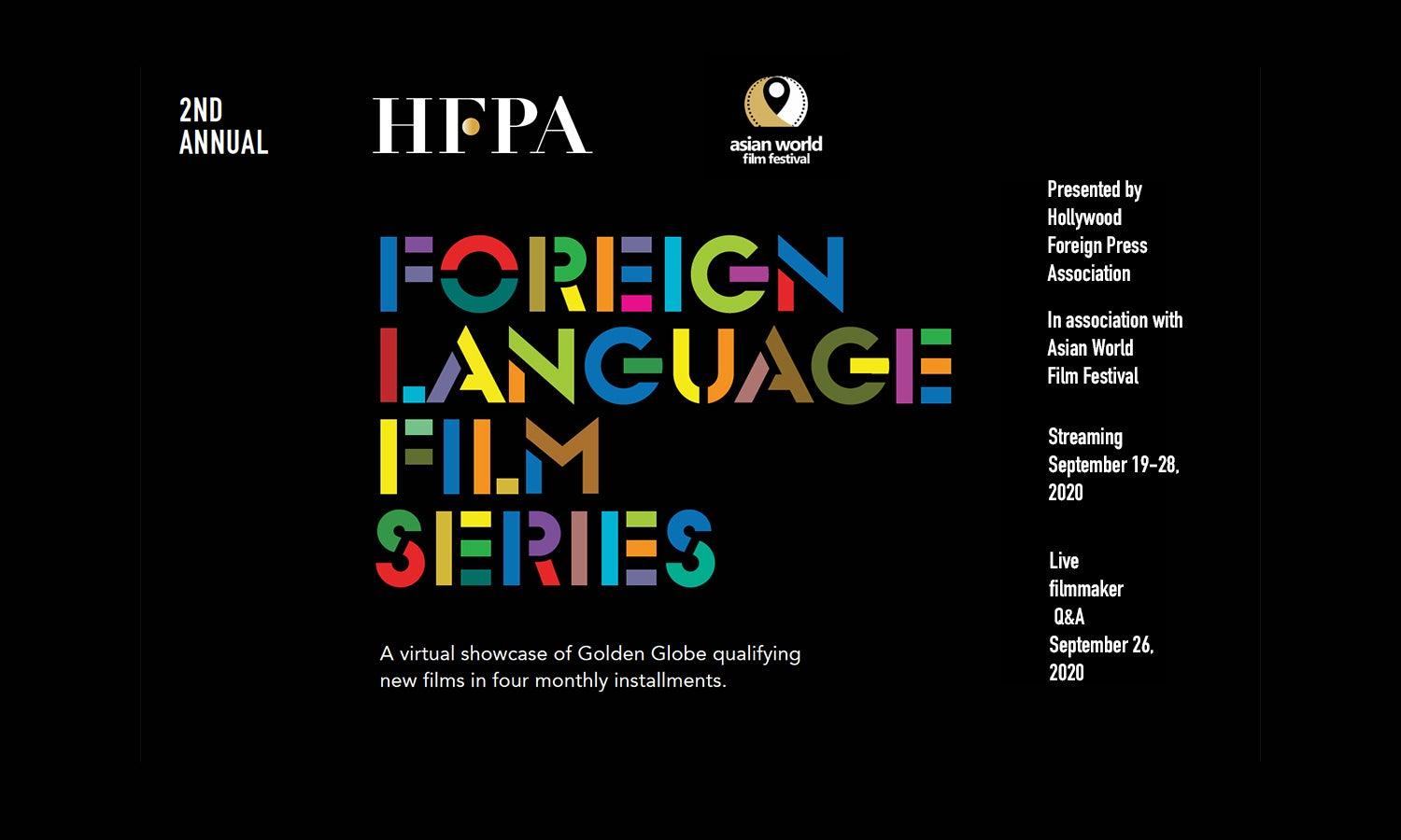 2nd Annual Foreign Language Film Series