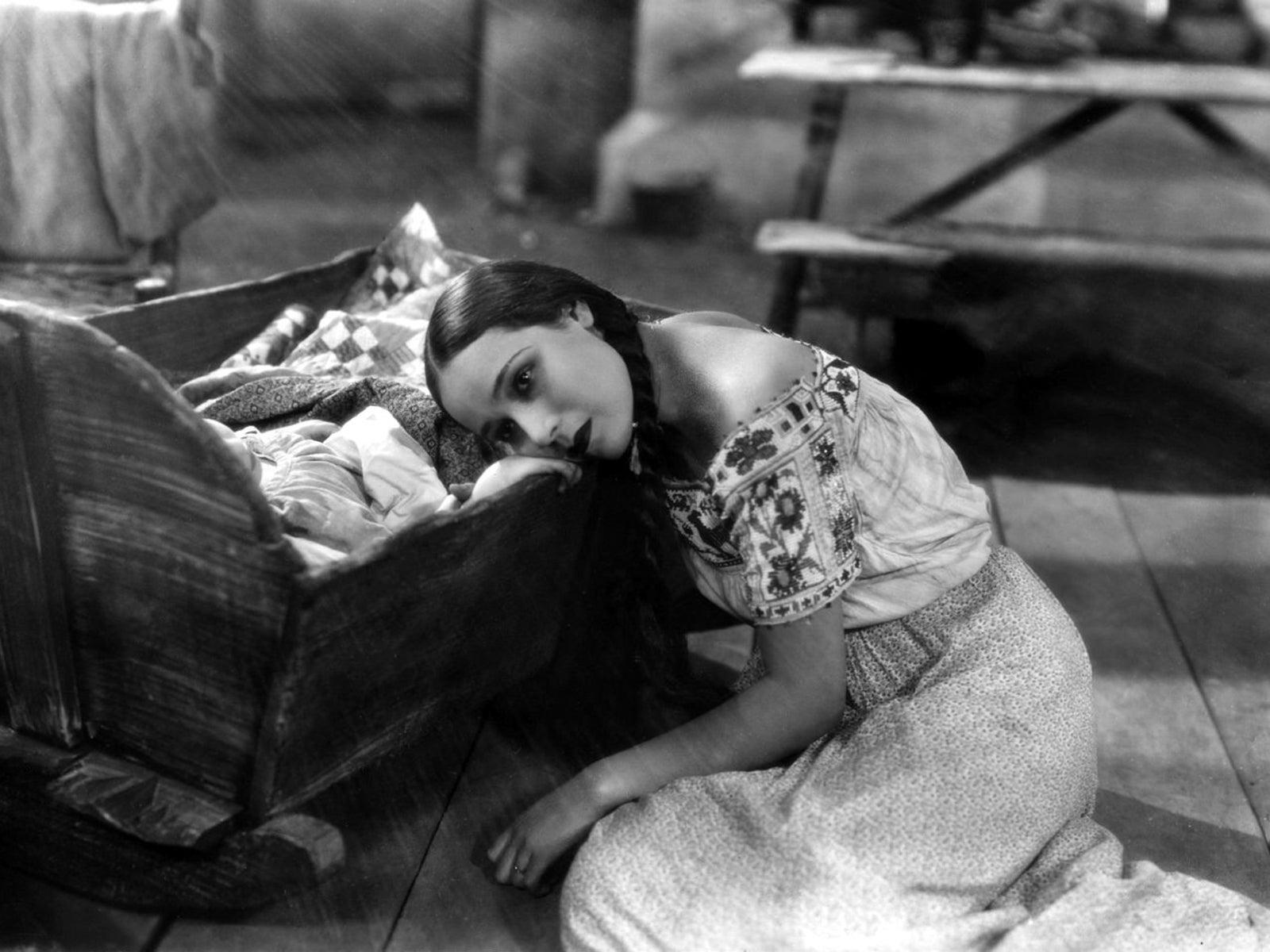 """Dolores del Rio in """"Ramona"""" (1928)"""