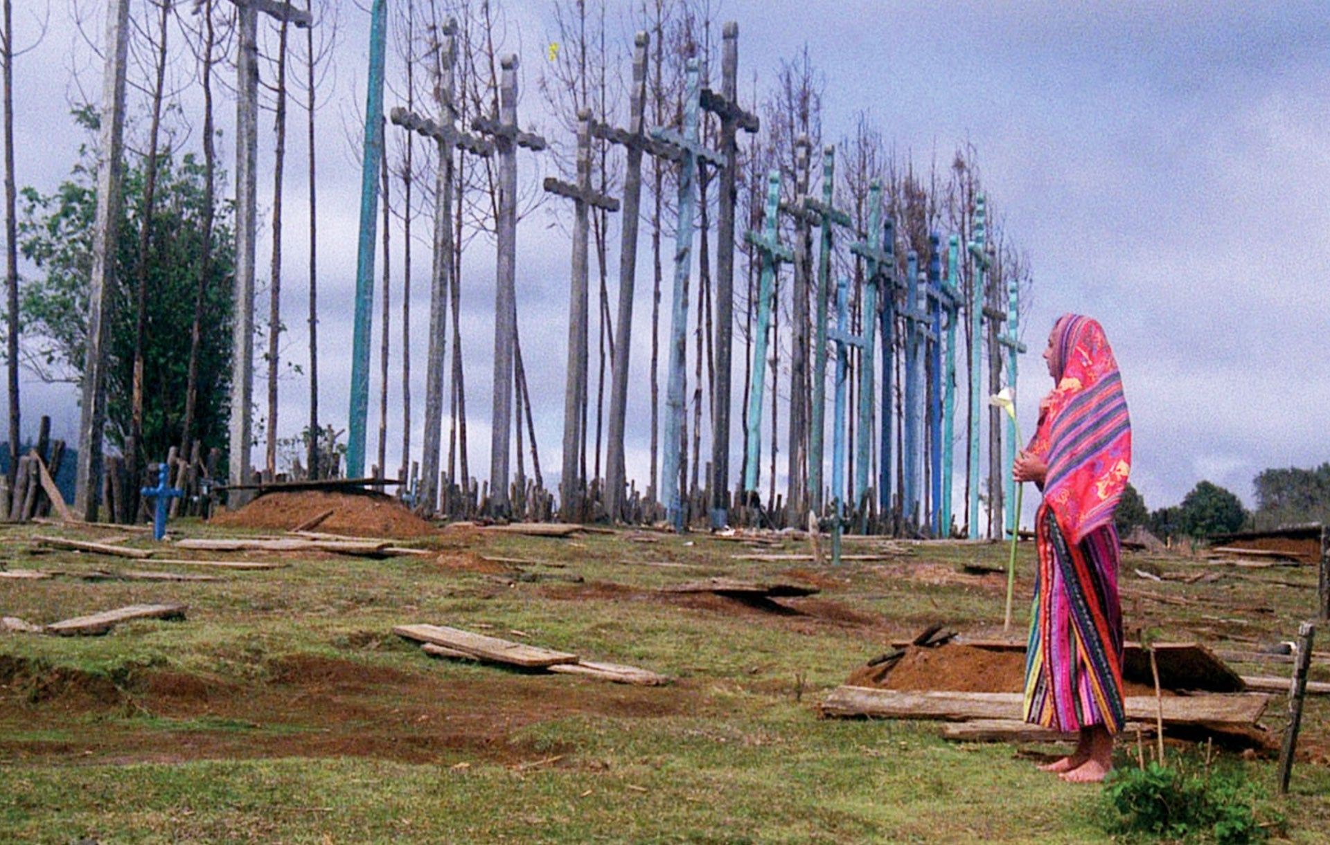 "A scene from ""El Norte"", 1983"