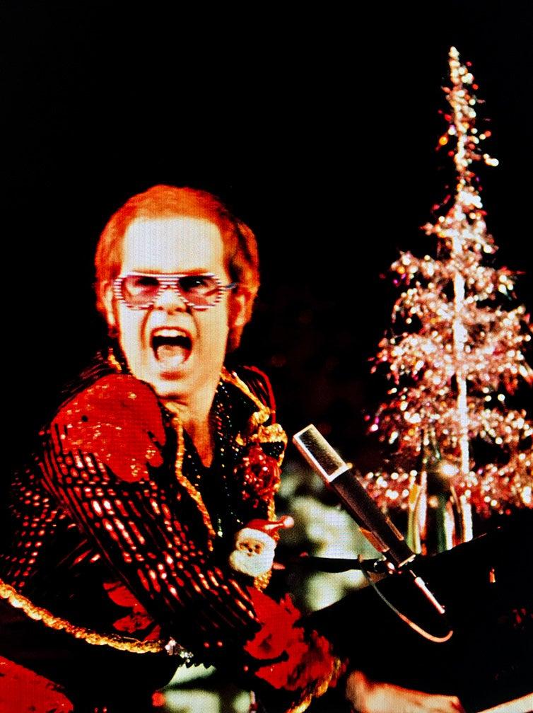 Elton John in London, 1973