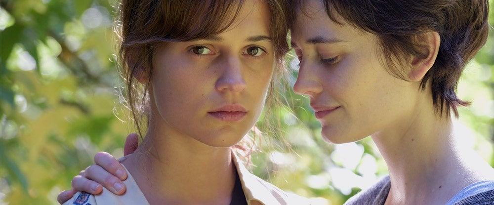 Eva Green and Alicia Vikander in a scene from Euphoria
