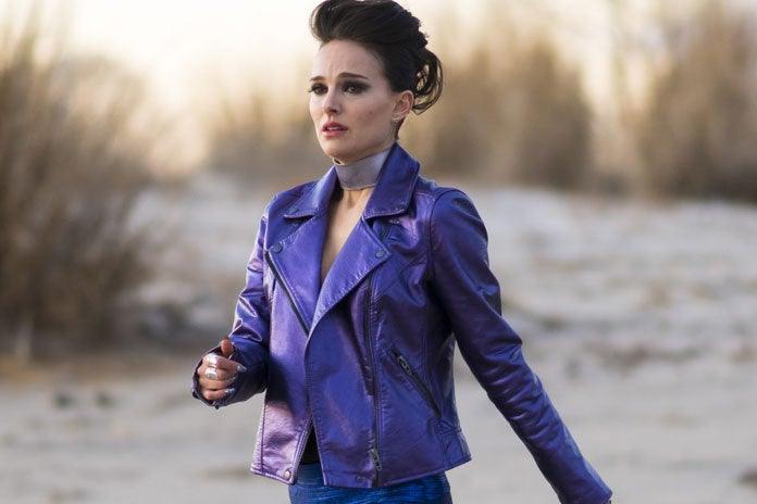 Natalie Portman in a scene from Vox Lux
