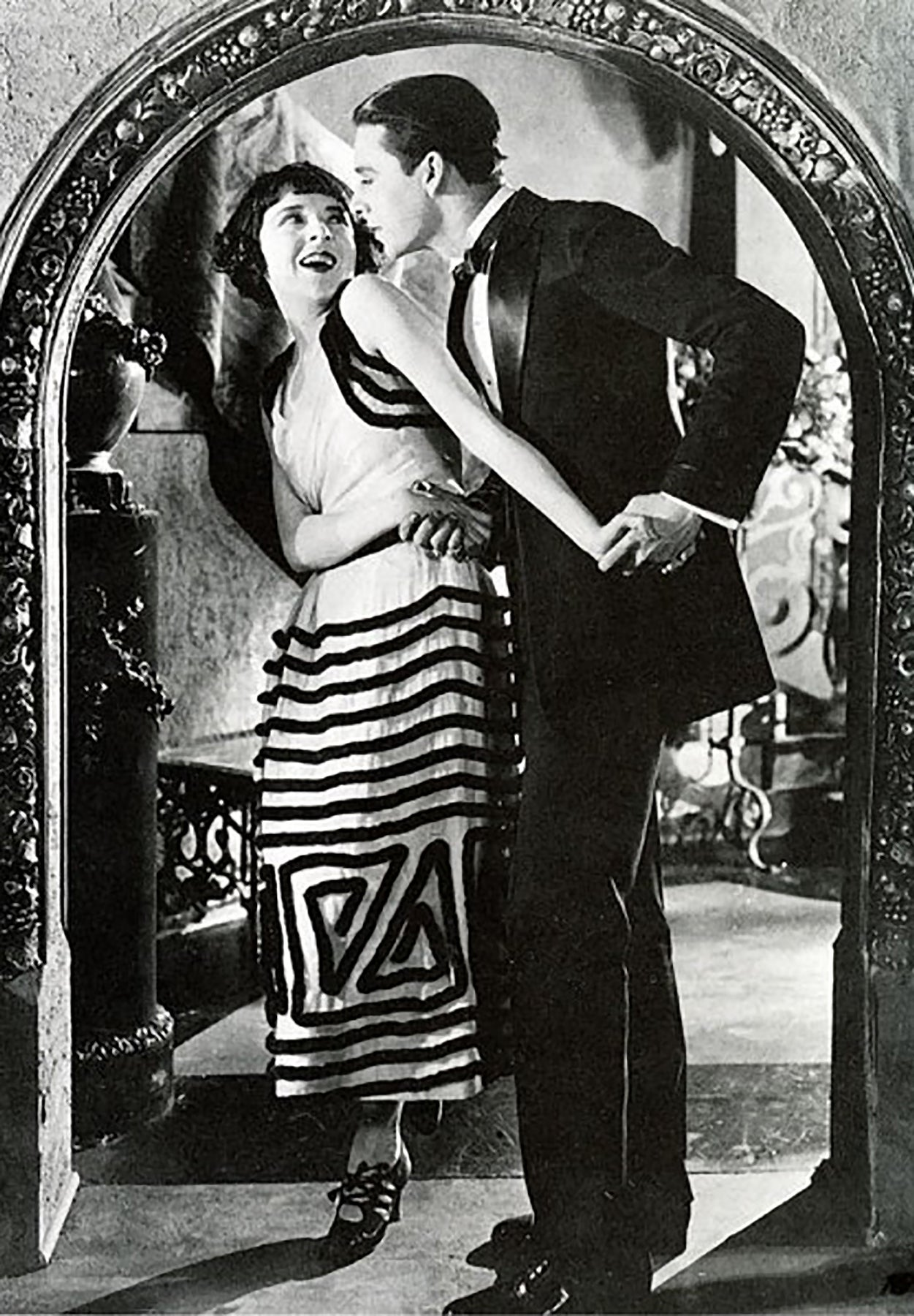 "Ben Lyon and Colleen Moore in ""Flaming Youth"" (1923)"