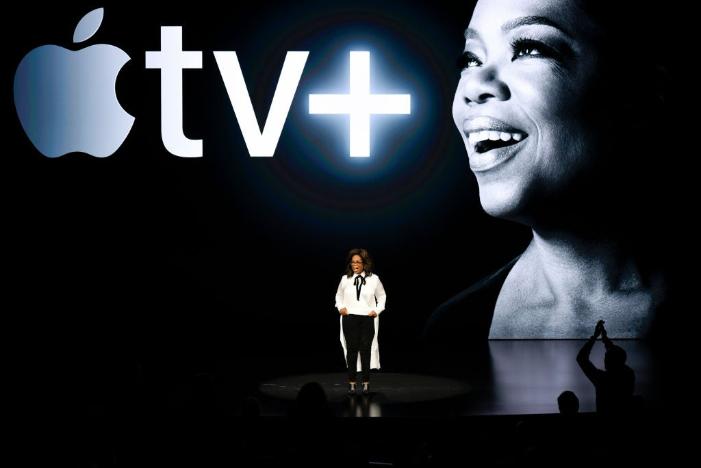 Oprah Winfrey at the 2019 Apple Product Launch