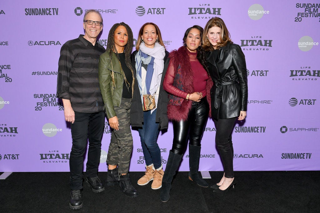 Filmmakers and cast of On the Record, Sundance 2020
