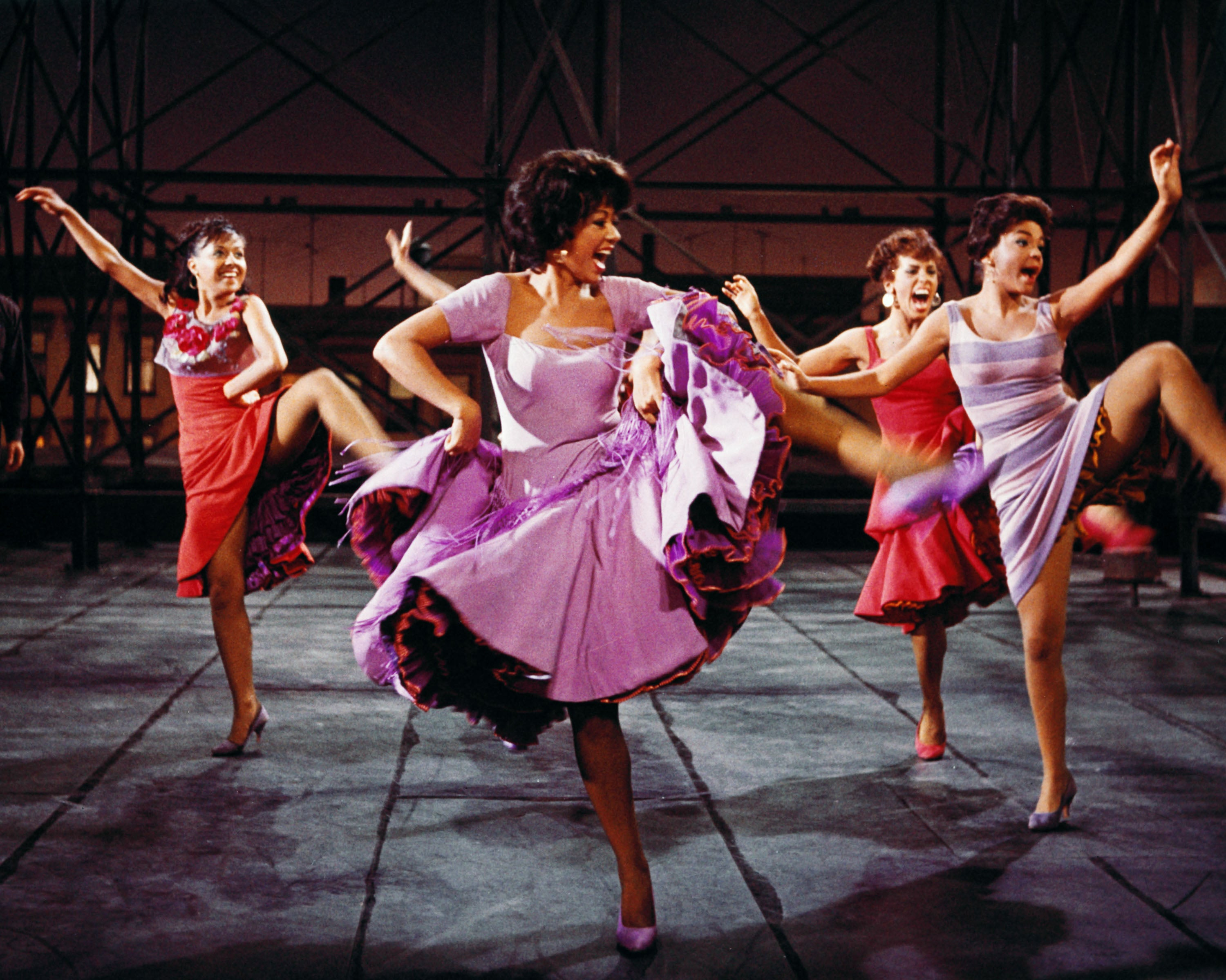 Rita Moreno in a scene from West Side Story