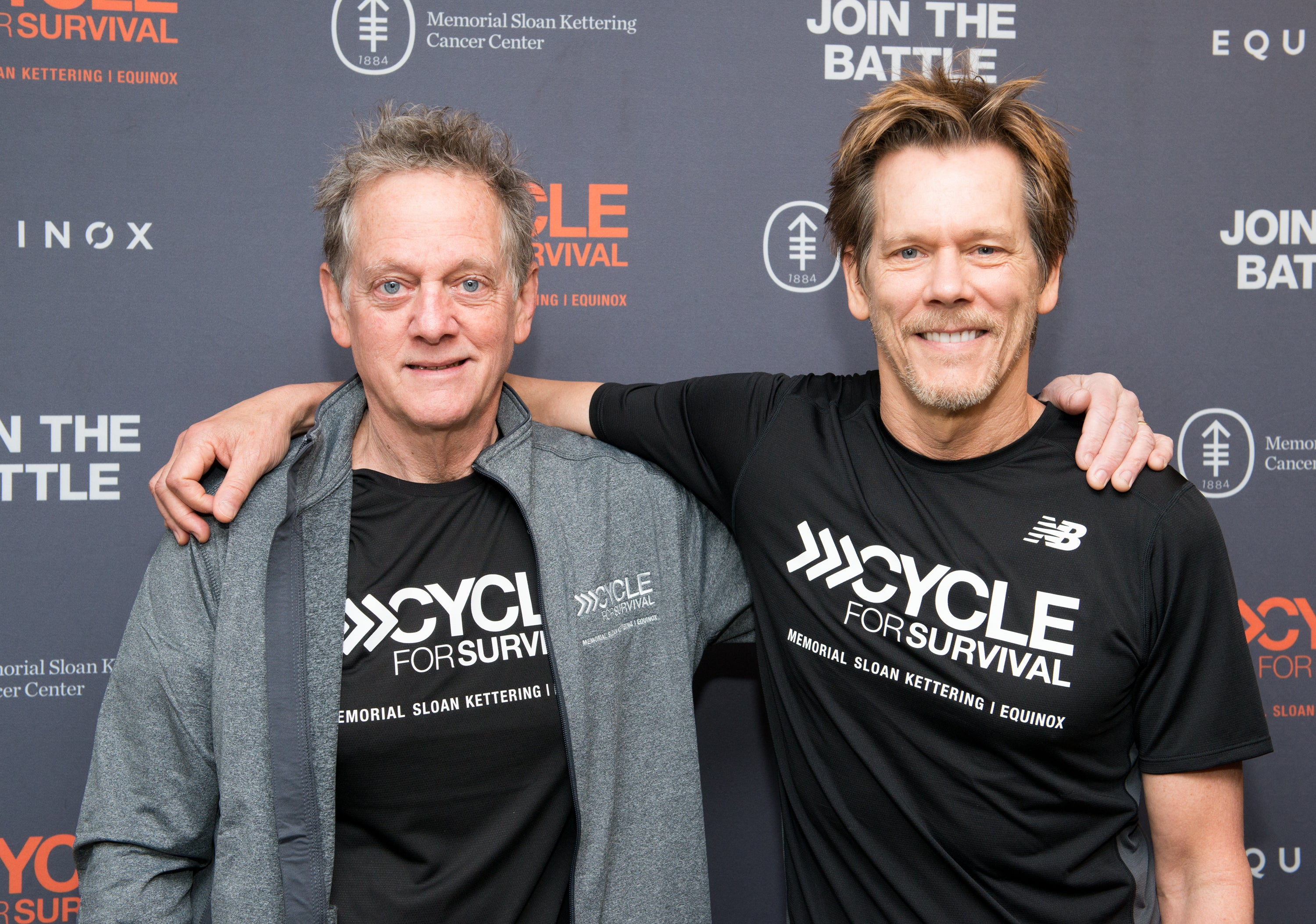 Actor Kevin Bacon and his brother, Michael