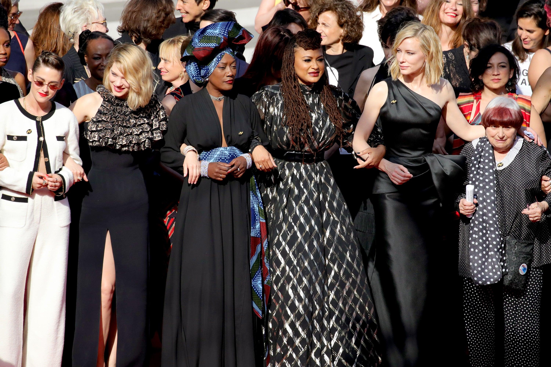 Women's march in Cannes 2018