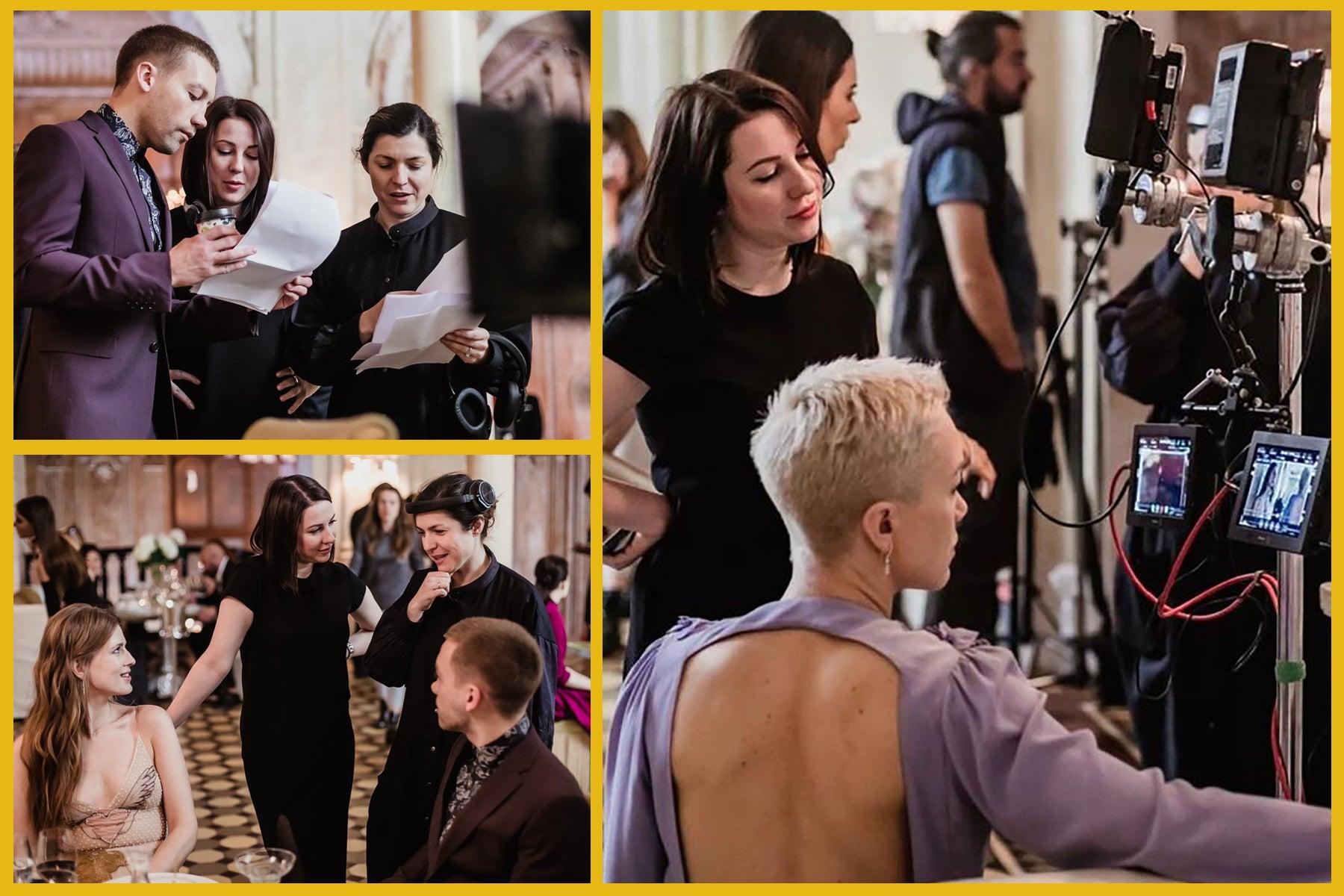 "On the set of ""Gold Diggers"" (Soderzhantki)"