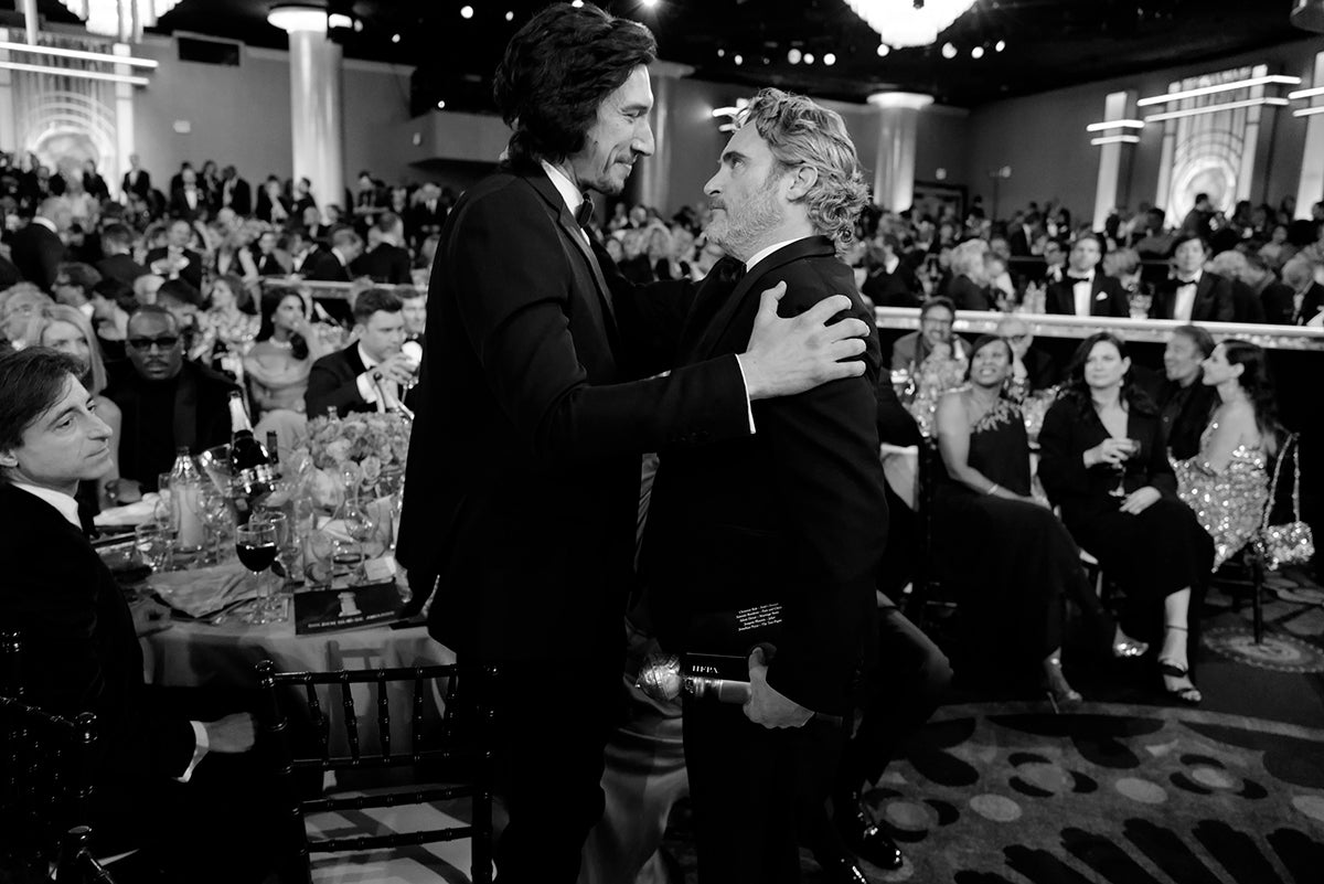 Adam Driver and Joaquin Phoenix