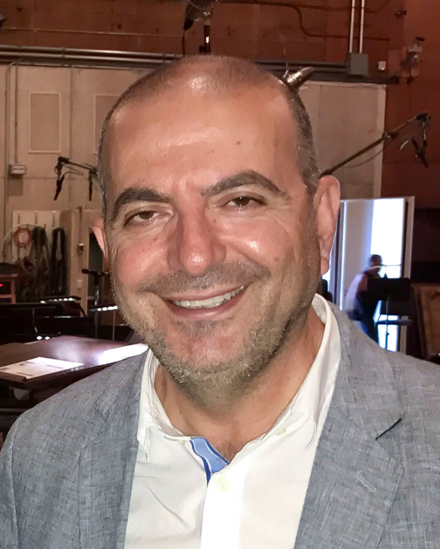 Director Hany Abu-Assad, Golden Globe winner