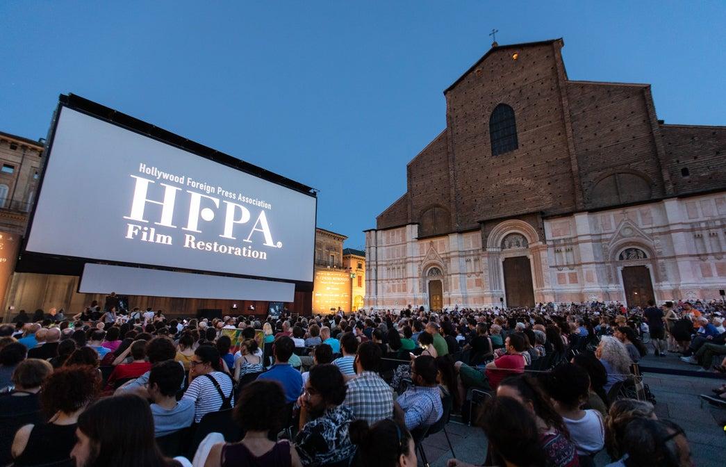 HFPA in Bologna at Cinema Ritrovato