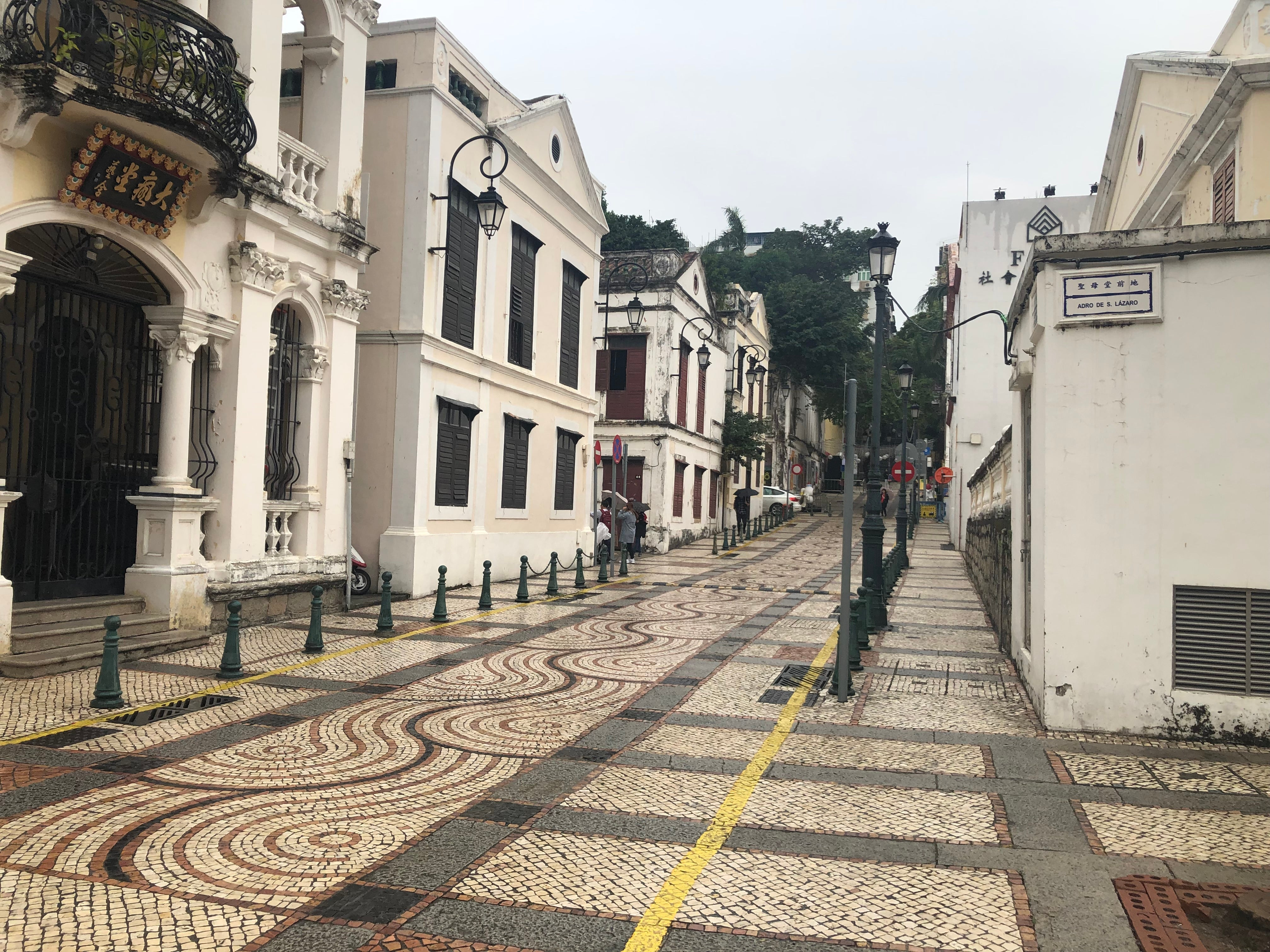 A view of the city of Macao