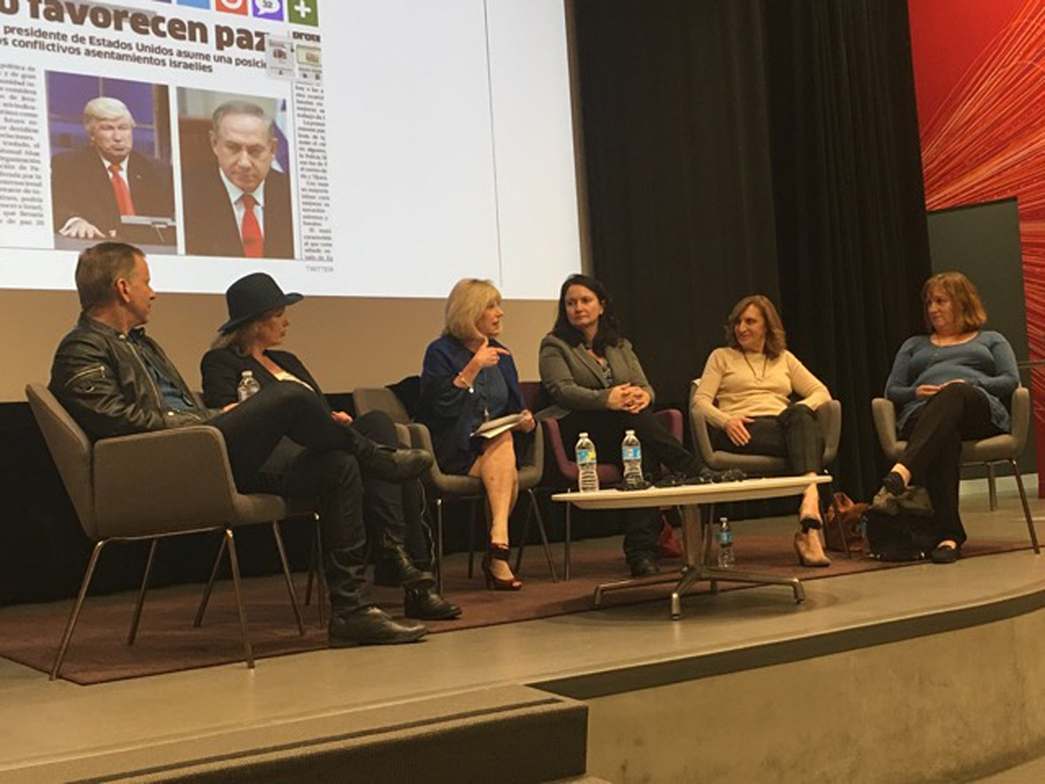 HFPA Panel at the 'Specialized Journalism: The Arts' class