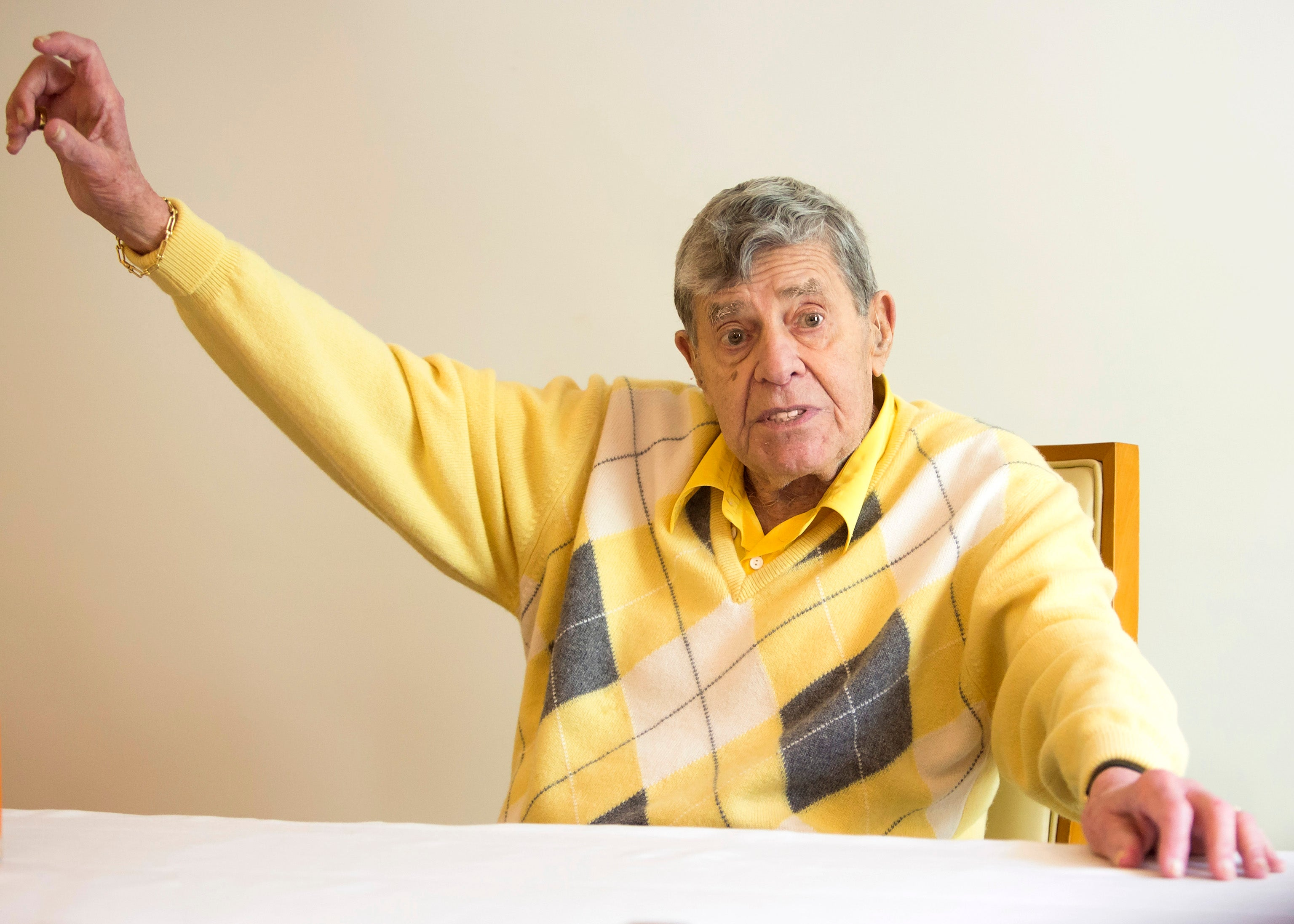 Jerry Lewis, Golden Globe nominee