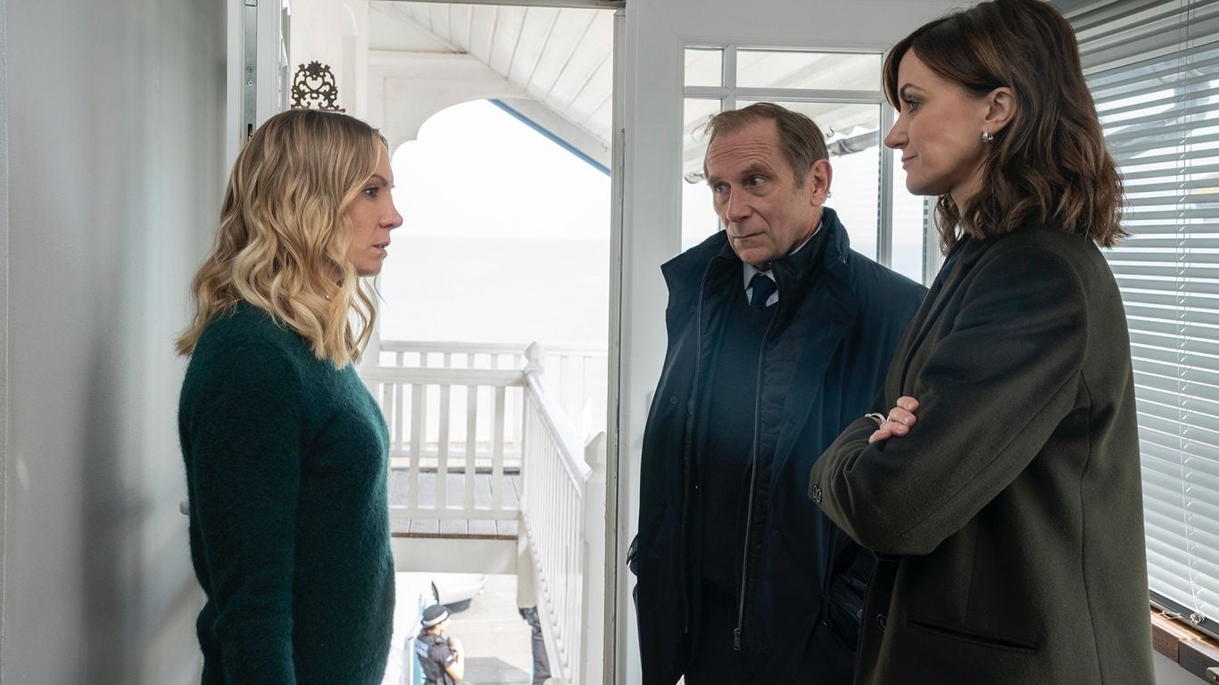 "Joanne Froggatt, Danny Webb, and Katherine Kelly in ""Liar"" (2017)"