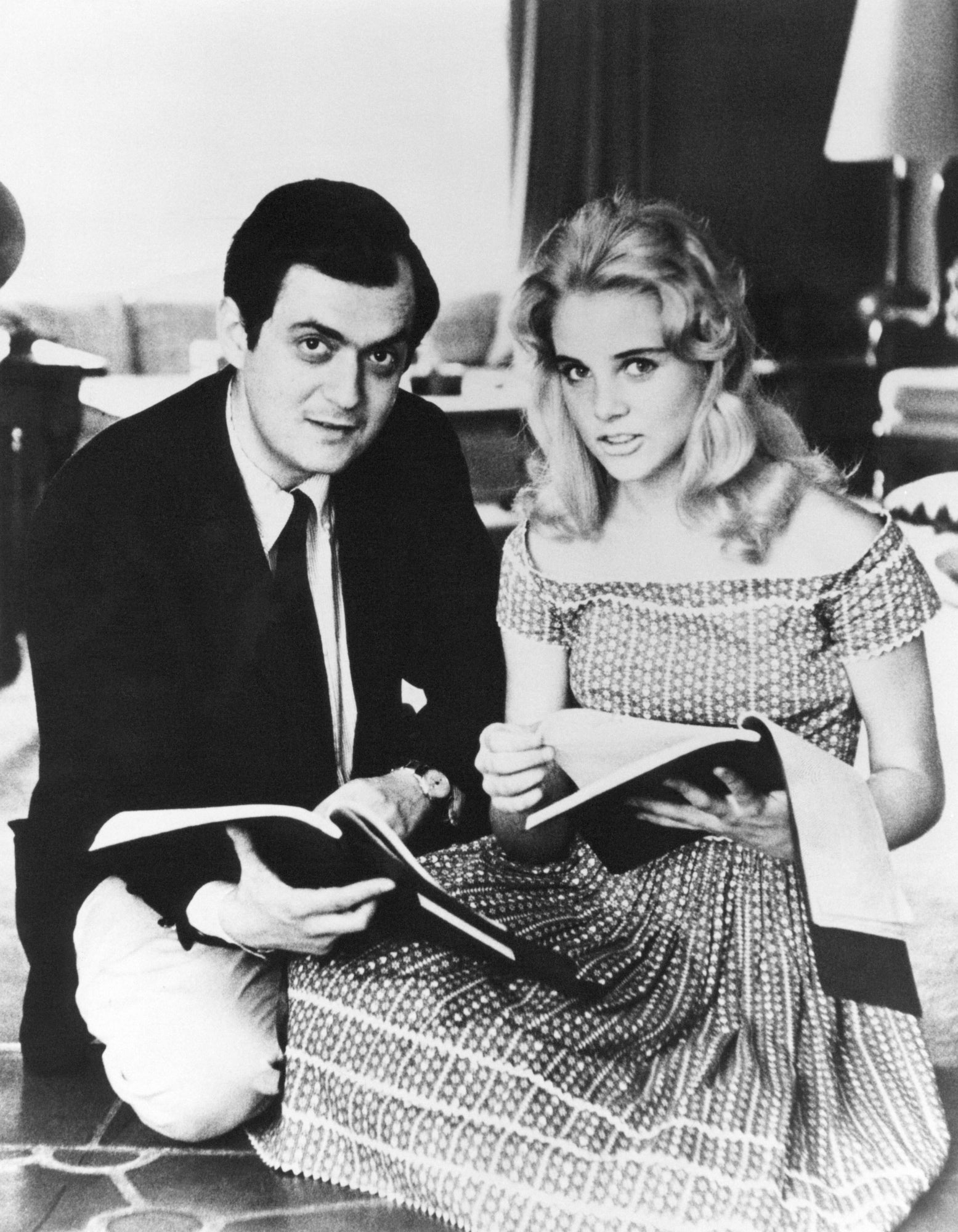 Sue Lyon and Stanley Kubrick