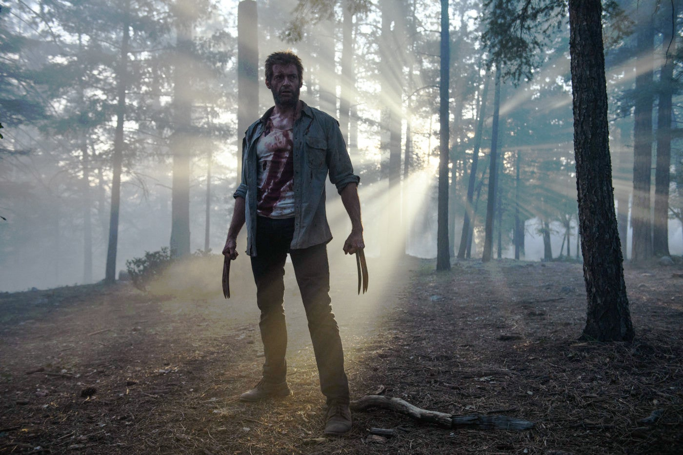 "A scene from ""Logan"""