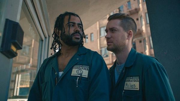 "A scene from ""Blindspotting"""