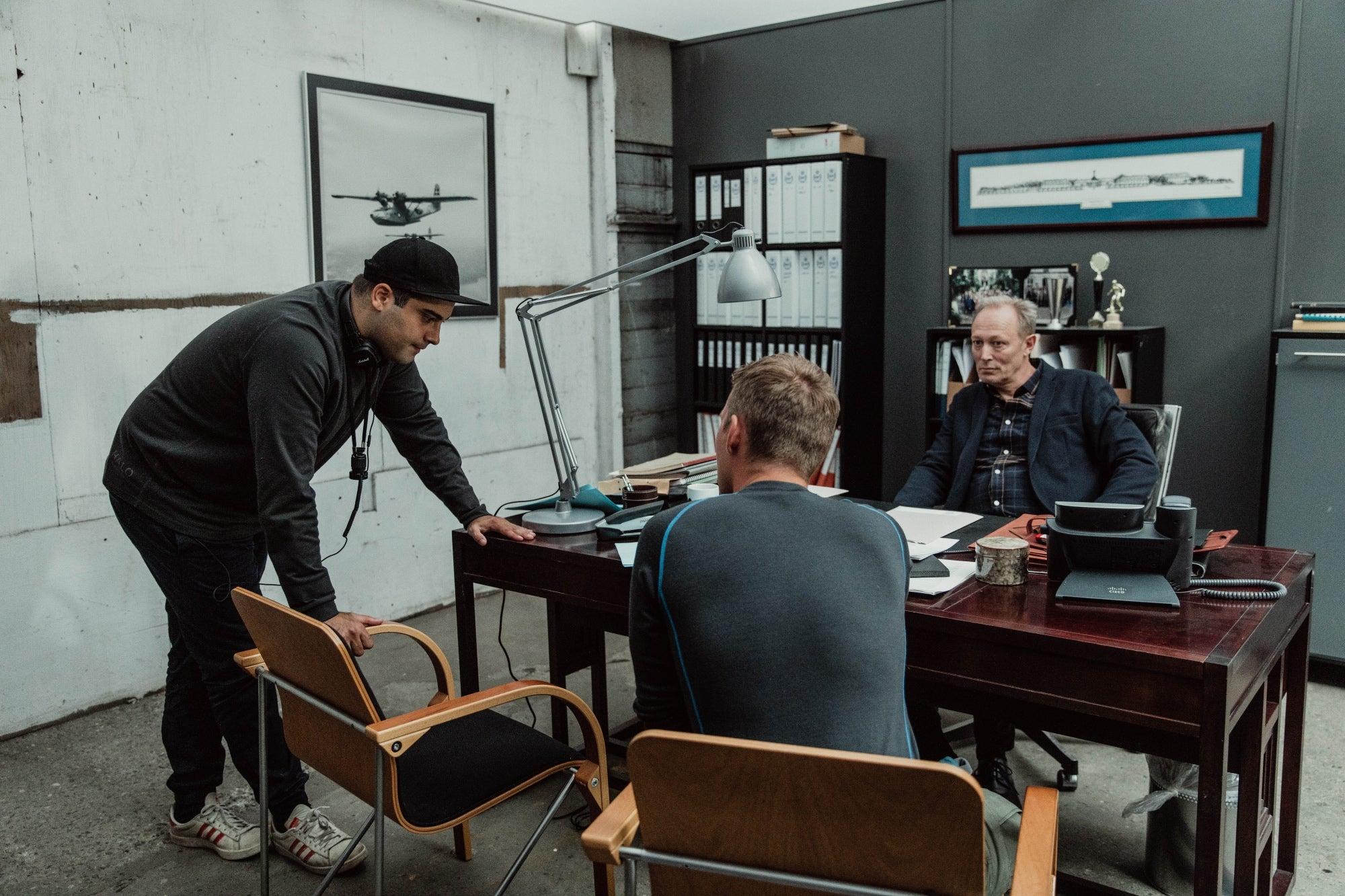 """On the set of """"Alfa"""", 2020"""