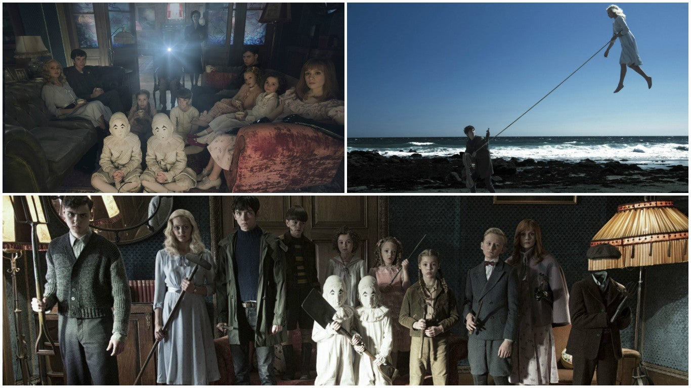 """Scenes from the upcoming \""""Miss Peregrine Home for Peculiar Children\"""""""