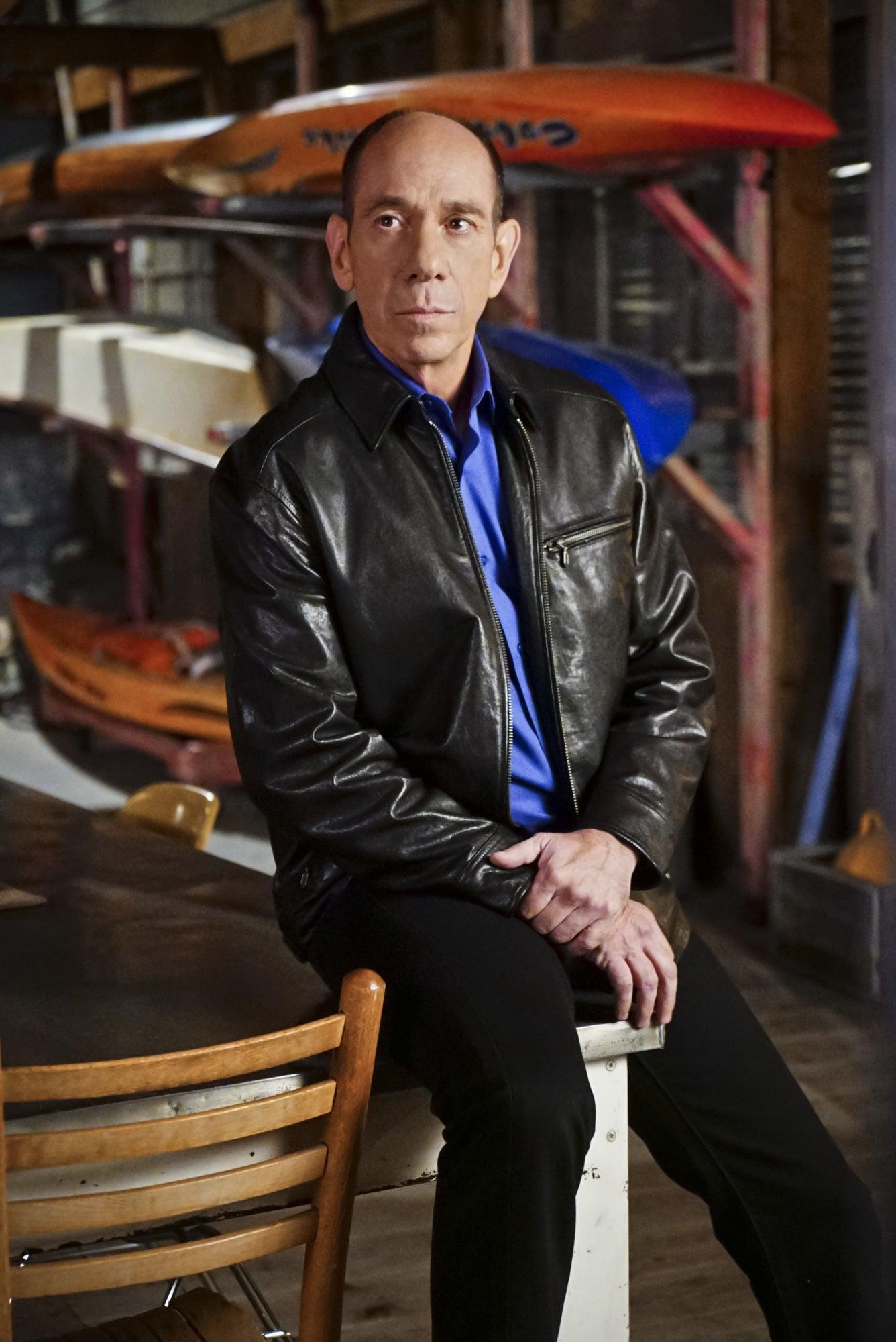 Actor Miguel Ferrer in the hit Tv series NCIS LA