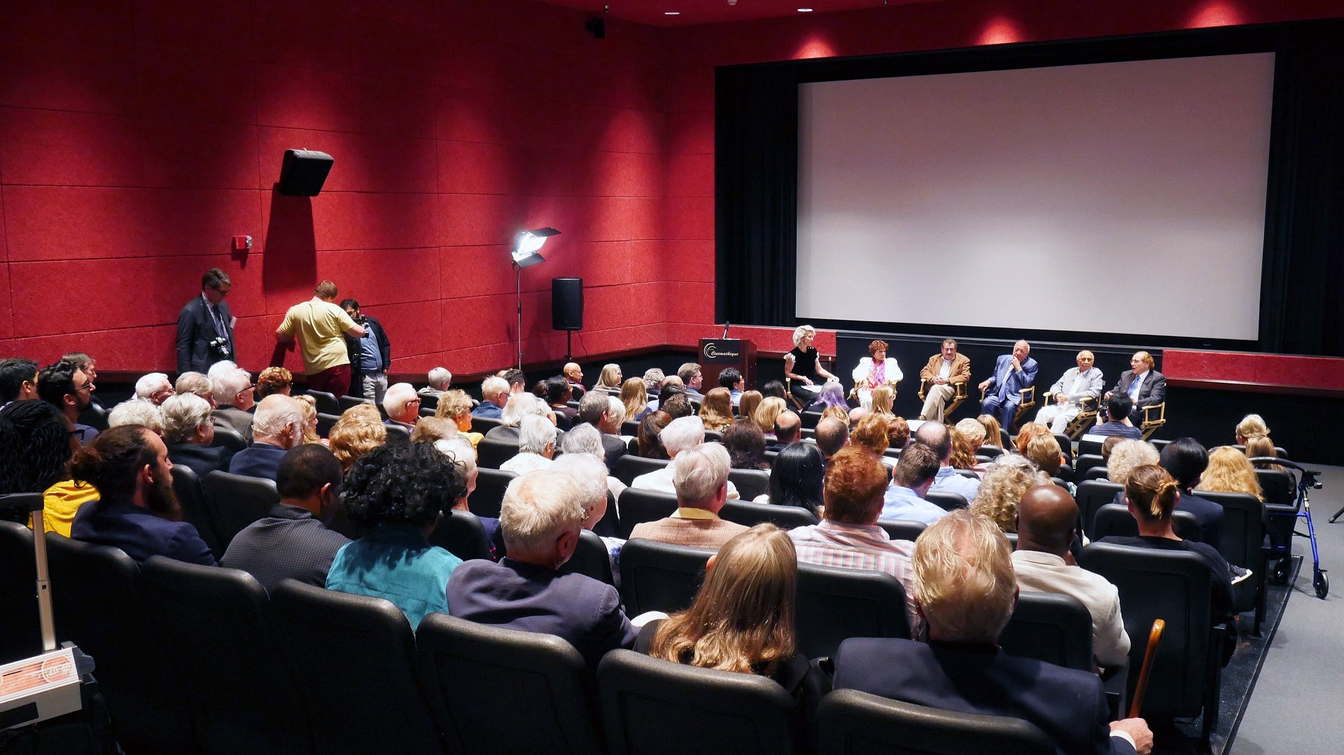 General view of the HFPA event at CSUN