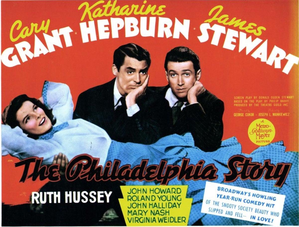 The Philadelphia Story lobby card, 1940