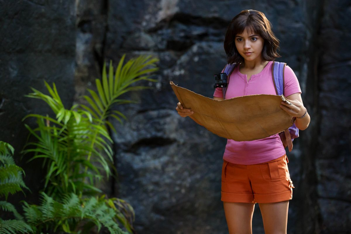 "A scene from ""Dora and the Lost City of Gold"", 2019"