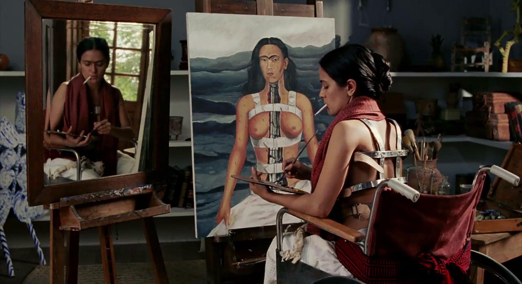 "Salma Hayek in ""Frida"" (2002)"