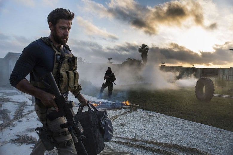 "A scene from the series ""Jack Ryan"""