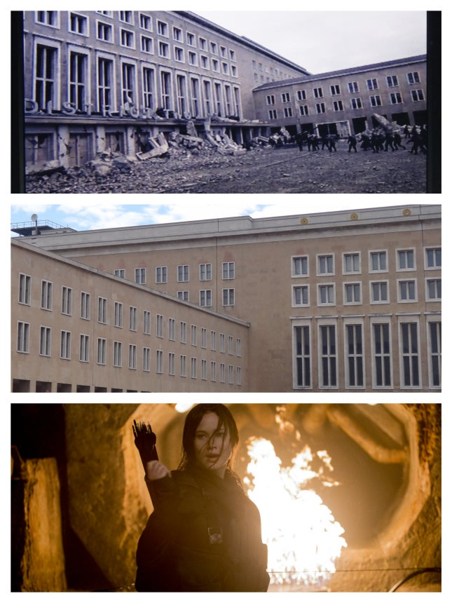 Tempelhof airport and Mockingjay Part 2
