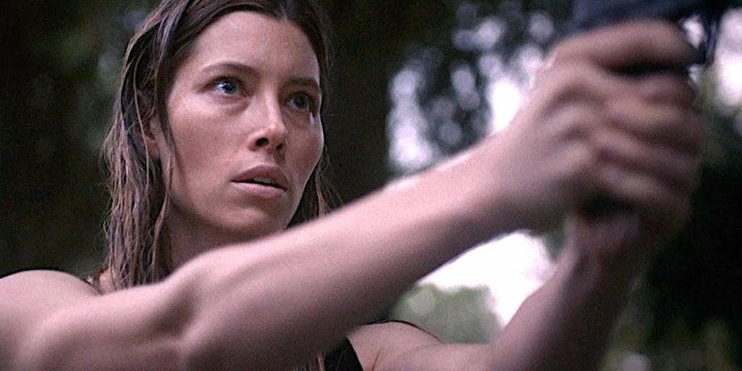 Jessica Biel in a scene from The Sinner