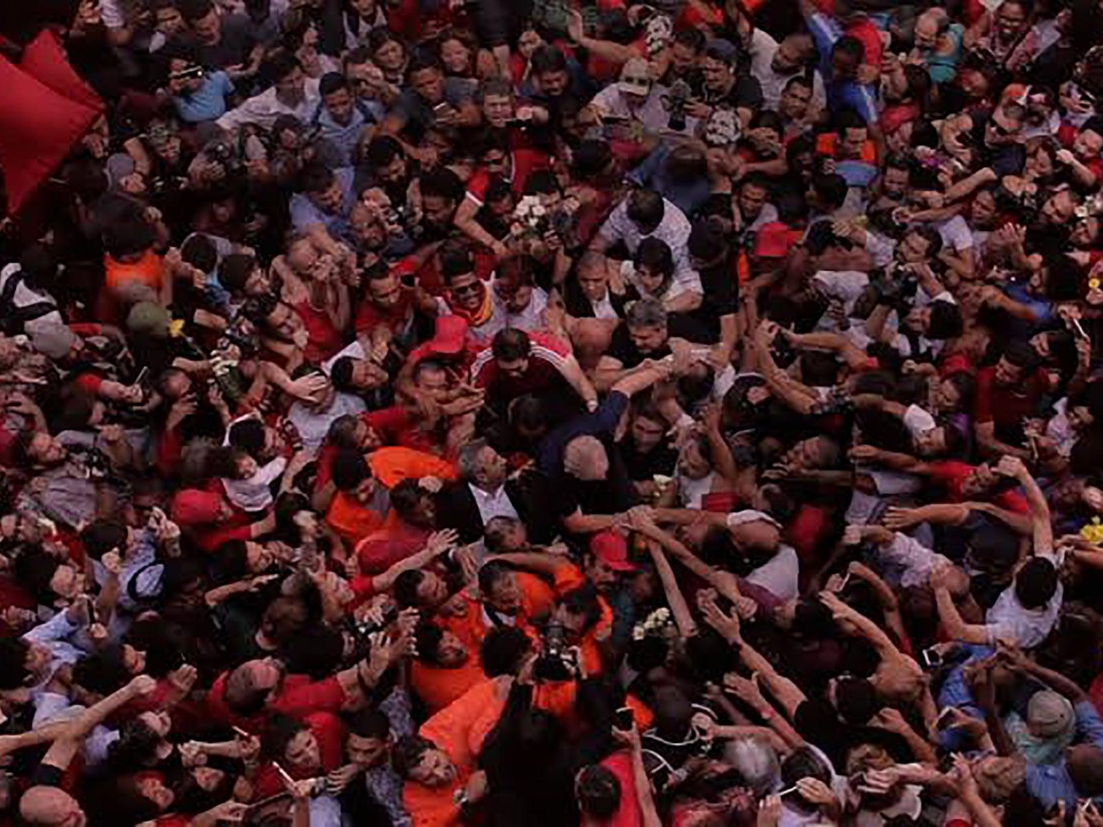 "Luiz Inácio Lula da Silva in ""The Edge of Democracy"" (2019)"