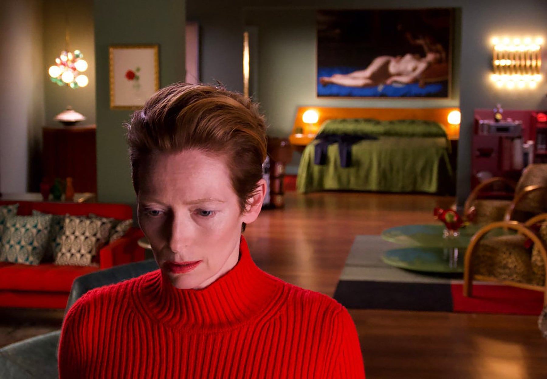 "Tilda Swinton in ""The Human Voice"" (2020)"