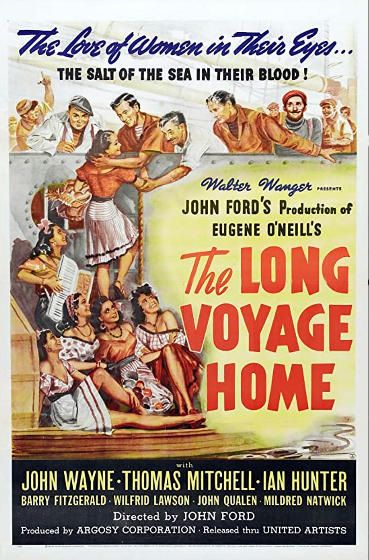 "Poster of the movie ""The Long Voyage Home"" (1940)"