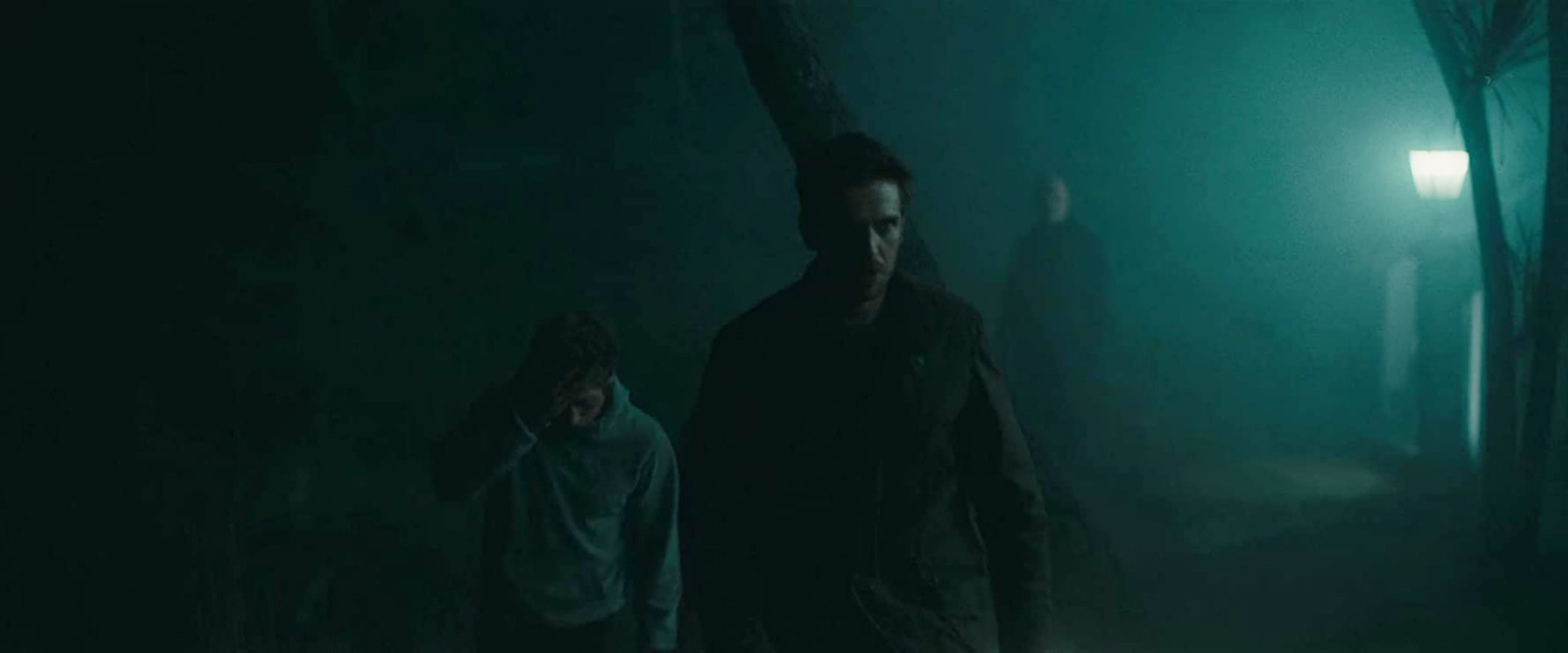"Dan Stevens and Jeremy Allen White in ""The Rental"" (2020)"