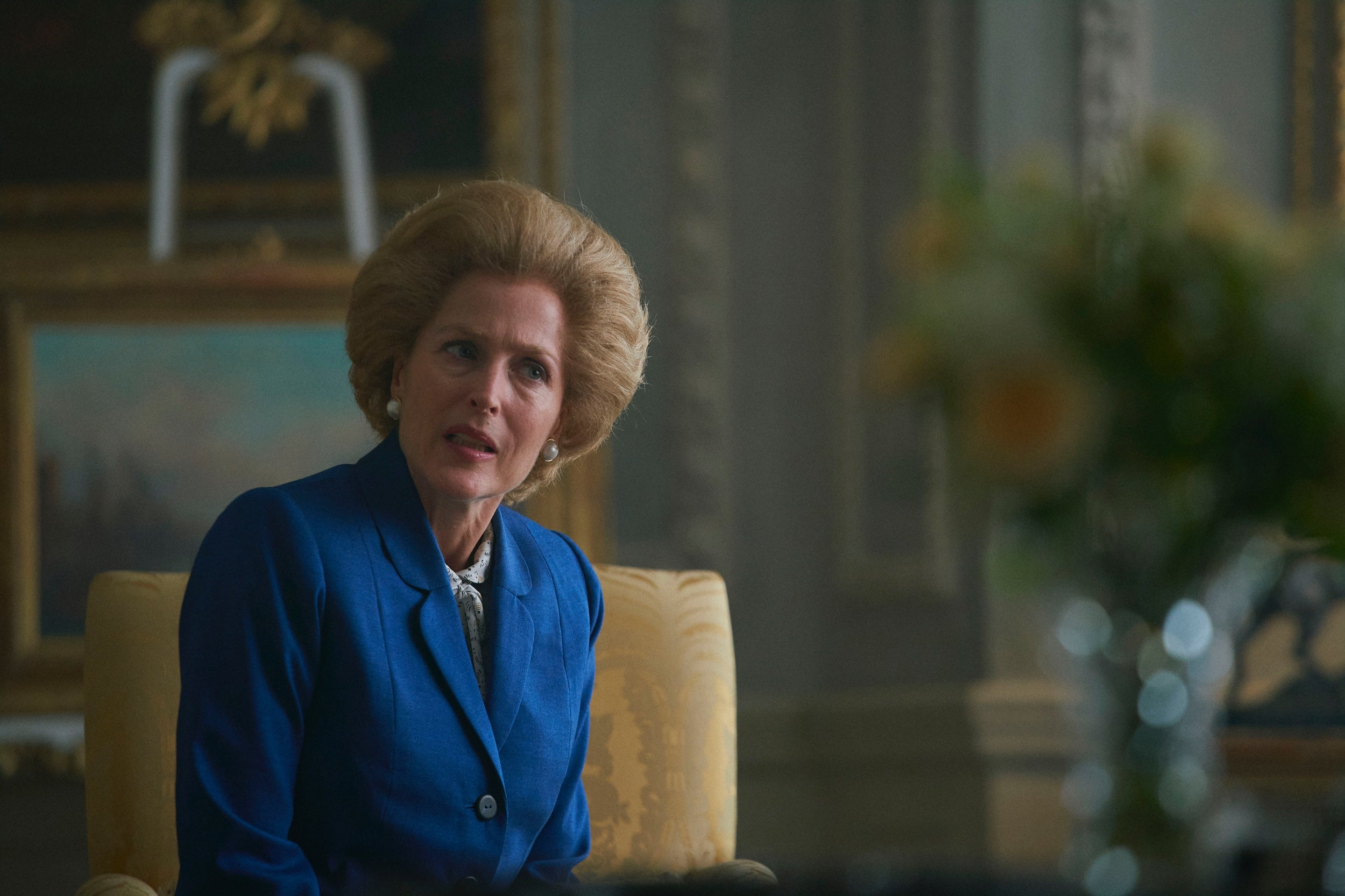 "A scene from ""The Crown"", s 4 2020"