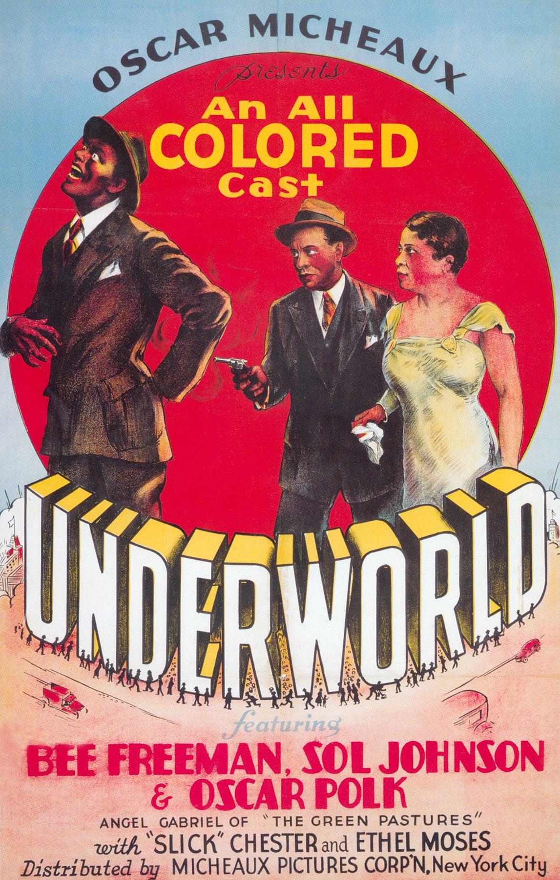 """""""Underworld"""" poster 1937"""