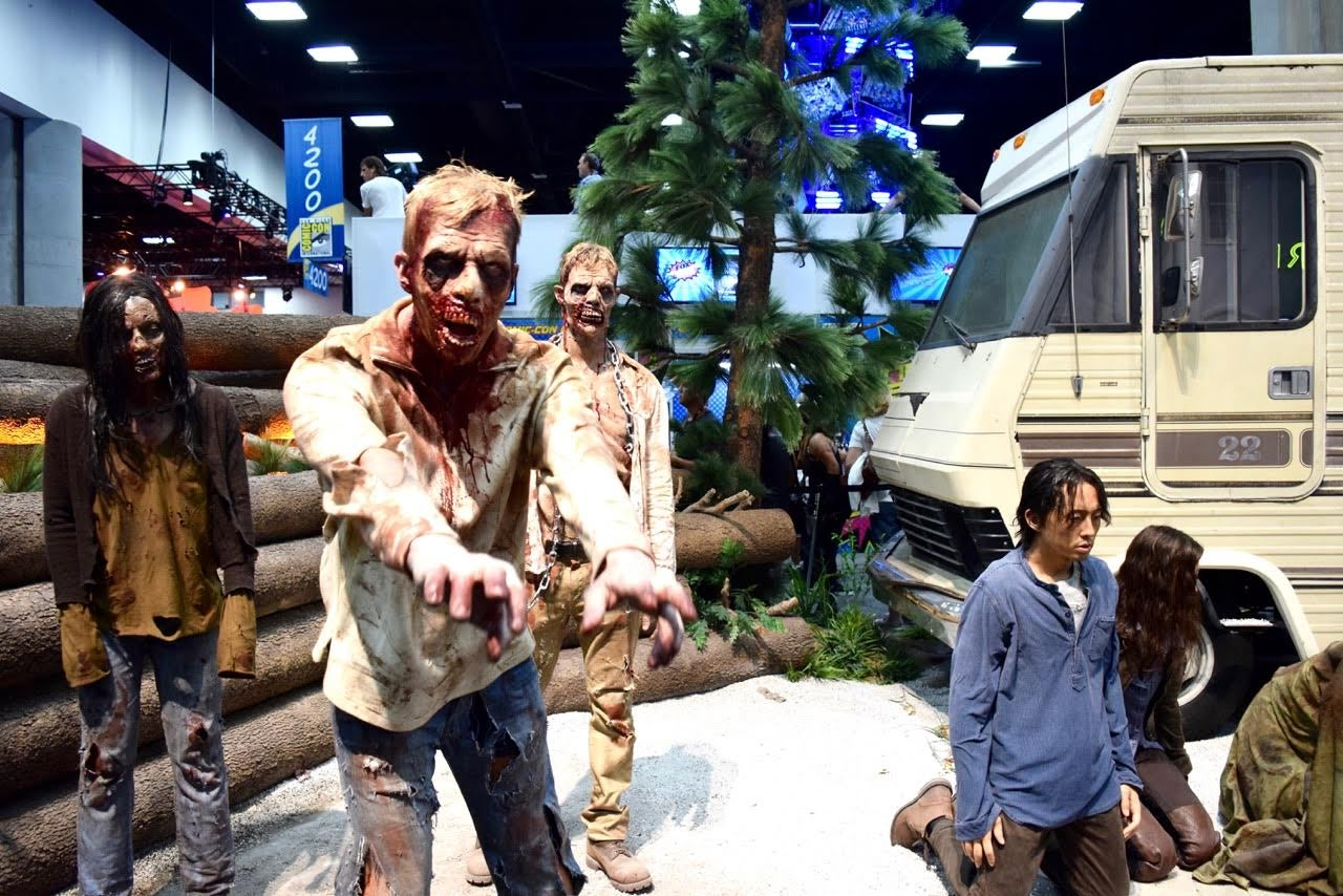 Zombies at Comc-Con 2016