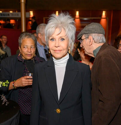 Jane Fonda returns to the Summit - the legendary actress and activist joined us at last year's event and has since become an active supporter of film preservation