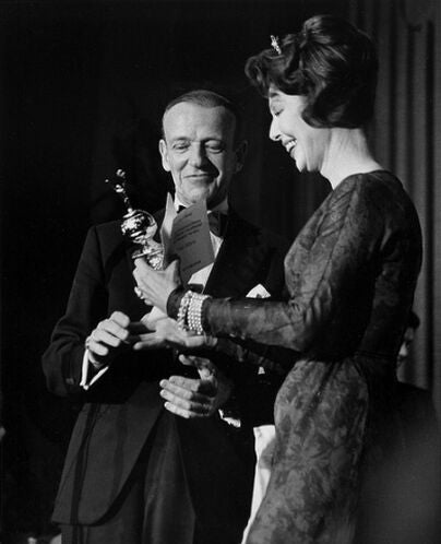 Actor, dancer and choreographer Fred Astaire, Golden Globe winner