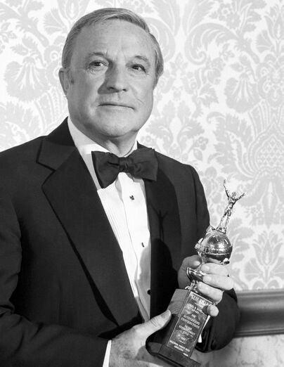 Actor, dancer and choreographer Gene Kelly, Golden Globe winner