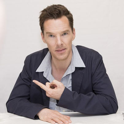 Actor Benedict Cumberbatch, Golden Globe nominee
