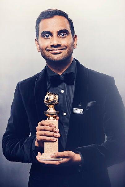 Aziz Ansari, Golden Globe winner