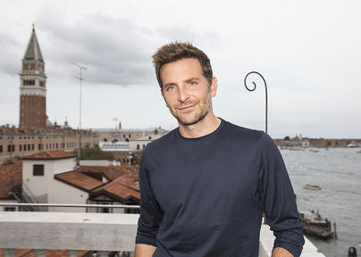 Actor and director Bradley Cooper, Golden Globe nominee