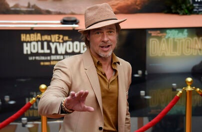 Brad Pitt premiere Once Upon a Time in Hollywood in Mexico