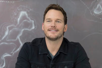 Chris Pratt at 41st TIFF for showing of The Magnificent Seven