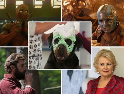 "Scenes from ""Deadpool 2"", ""Avengers: Infinity War"", ""A Quiet Place"", ""Book Club"" and ""Show Dogs"""